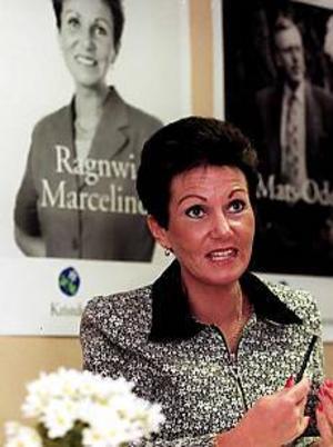 Arkivfoto: MATS ÅSTRAND Glömde anmäla? Ragnwi Marcelind, kd, har som riksdagsledamot skyldighet att anmäla om hon har några privata företagsintressen eller inkomstkällor. Ragnwi sitter i styrelsen för sin mans företag, något hon inte anmält.