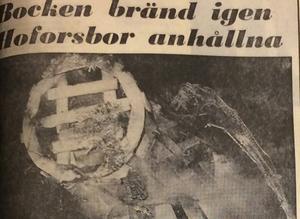1970 fick köpmännen nog och vägrade bygga 1971 års Gävlebock.