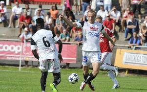 "Anfallaren Dragan Kapcevic var besviken på Serik Fans efter matchen mot Degerfors. ""De skriker massa onödiga saker"", säger han. Foto: Simone Syversson"