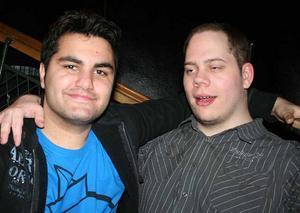 Konrad. Sasan och Oscar