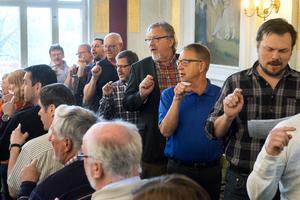 Sundsvalls Kammarkör under ledning av Kjell Lönnå firar 50-årsjubileum 2015.