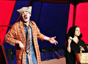 Clownen Jack blir lurad.