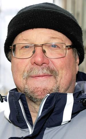 Klas-Göran Wallin, 62 år, Frösön:   – Ja, det går inte att göra något åt den. Jag tror inte att den kommer att komma stort till Sverige, men smått.
