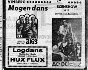 AC/DC är ett av världens största rockband, med över 200 miljoner sålda skivor. Senast de var i Sverige spelade de på ett utsålt Friends Arena inför 57 000 skrikande fans, men deras första Sverigespelning skedde redan 1976 på en liten dansbana i Halland.