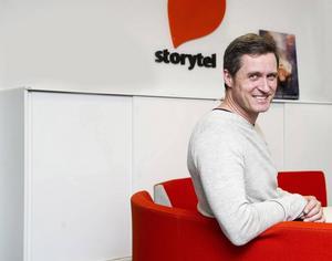 Storytels vd Johan Tellander.