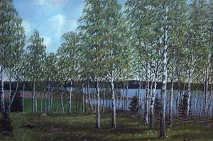 Exempel på Hed Olof Olssons måleri.