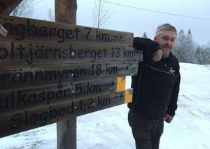 Jan Andersson, markägare i Sörskog, reagerade starkt över att inte ha blivit informerad över de kommunala planerna i området.