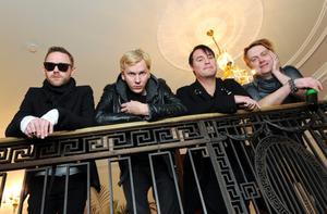 Jocke Berg, Sami Sirviö, Markus Mustonen och Martin Sköld i Kent släpper nya albumet