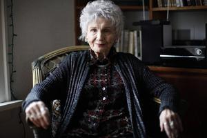 Alice Munro, född Laidlaw 1931, i en släkt som utvandrade från Skottland till Kanada.