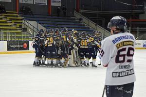 Borlänge Hockey fick jubla i sudden death.