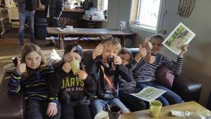 Här godkände barnen förslaget på den nya lekparken i centrala Järvsö.