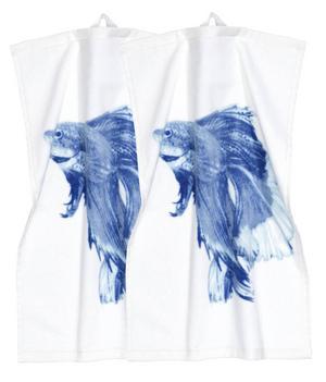 TORKA. Gästhanddukarna från H&M Home säljs i tvåpack för 79.90 kronor.