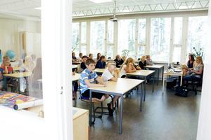 På onsdagen började Sandvikeneleverna skolan igen efter sommarlovet.
