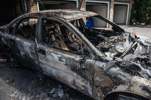 Tommy körde bilen bara timmarna innan den förstördes i branden.
