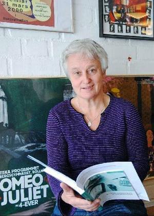 Lena Rieback är programsamordnare för det estetiska programmet i Bollnäs.
