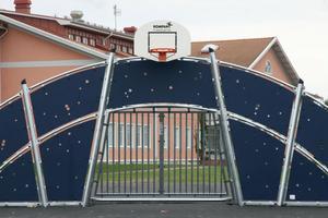 Fotboll och basket ska man kunna spela här.