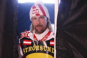 Frank Zorn konserverade toppformen från VM-kvalet i lördags. Dagen efteråt var han i Gävle för att serieköra för Strömsund och det slutade lika bra.