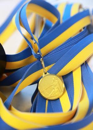 Alla upp till 8 år får medalj