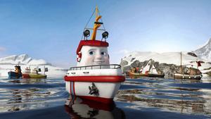 Båtkul. Räddningsbåten Elias är tillbaka i sin andra biofilm.