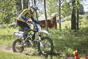 Hebybon Håkan Cajander har kört enduro i drygt 15 år.