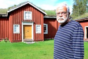 Fattar rodret. Åke Granberg är en välkänd kraft i Grythyttans hembygdsförening. Nu tar han över som ordförande.