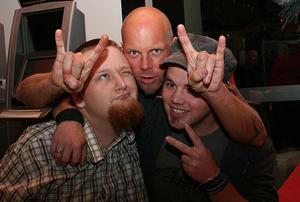 Blue Moon Bar. Marcus, Mattias och Tommy