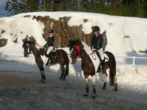 Kristine Svenssson/Melissa Moonlight, Hudiksvall, vann lätt C, med klubbkompisen Elin Fagerström/Coeur DÁrlene på fjärde plats.