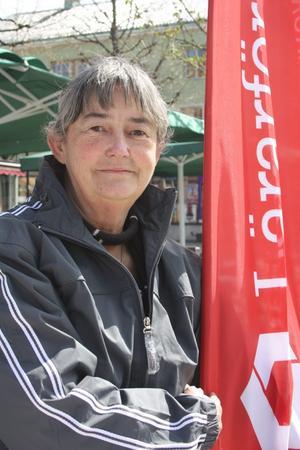 Margaretha Thunström- Karlsson har arbetat inom Kumlas skolor i 37 år och är bekymrad över utvecklingen.