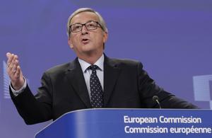 Jean-Claude Juncker har trampat i klaveret genom att säga att grekerna måste rösta rätt.