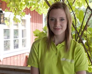 Linda Lindberg, 15 år, Hallstahammar/Kolbäck:– Jag ska fotografera och sedan sälja bilderna. Kanske göra ansiktsmålning på barn och möjligen måla naglar också.