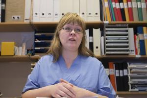 Anna Nilsson ser mycket stress hos sina kollegor.