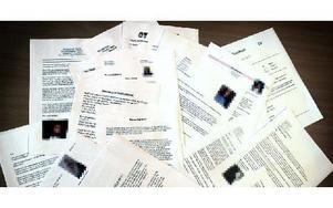Fram till i går kunde vem som helst hitta, ladda ner och skriva ut meritförteckningar och personliga brev från privatpersoner som sökt jobb hos Borlänge Energi. När DD uppmärksammade bolaget på detta, togs handlingarna bort. Foto: Jennie-Lie Kjörnsberg