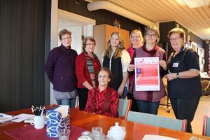 Från vänster: Christina Ljungström, Gunhild Carlbom, Linnéa Ljungström, Lisa Månsson Rydén, Anita Bodin, Siw Steen.