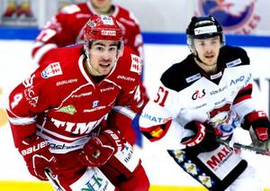 Nisse Bergström och Timrå jagar en plats i förkvalet i kvällens match mot seriesegrarna Malmö.