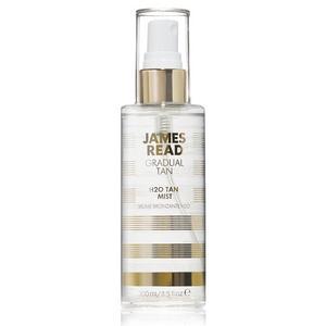 är en rosenvattenbaserad och genomskinlig spray som ger en gradvis brun-utan-sol effekt. Sprayen har återfuktande och hudvårdande egenskaper och ska ge en uppfriskande känsla. Går att använda som primer innan make up och som fixeringsspray. Det tar 6-8 timmar innan man ser resultat, som sedan varar i 3-5 dagar. Ger ett jämt resultat och har en svag brun-utan-soldoft. Pris cirka 249 kronor.