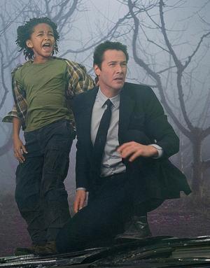 Keanu Reeves och Jaden Smith i science fiction-dramat The Day The Earth Stood Still.