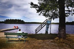 Området på Medskogssjöns camping har fått sig ett rejält ansiktslyft och nu är beläggningen på området god.