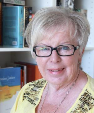 Anita K Alexanderson är huvudarrangör och en av grundarna till Bokdagar i Dalsland.    Foto: Åsa Carlsson/Pressbild