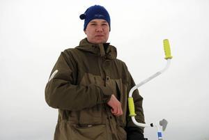 Linus Axelsson från Ovansiljans Sportfiskeklubb.