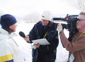 """Maud Bernhagen, som gjorde sitt första OS, intervjuar Magdalena Forsberg, som gjorde sitt sista. En intervju långt, långt från den """"förbjudna"""" tävlingsarenan."""