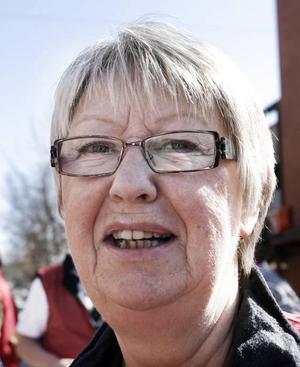 Ann-Margret Knapps försök till skämt gick inte hem hos lokala moderater i Hudiksvall.