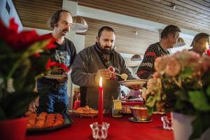 Florian, som flyttat till Sundsvall från Rumänien, hade tagit sig till EFS-kyrkan.