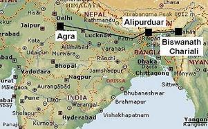 ABB har fått en indisk stororder värderad till 900 miljoner dollar ( 5,7 miljarder kronor). Här ska världens största kraftöverföring gå.KARTA: ABB