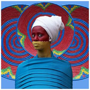 Courtesy of Aida Muluneh and David Krut. Islamsk konst i Afrika visas på l'Institut du monde arabe i Paris. Här Aida Muluneh.