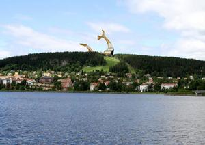 Så här vill en medborgare i Östersund att det ska se ut på Östberget.
