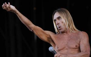 Ett 20-tal konstelever avbildade Iggy Pop som ställde upp som nakenmodell under en lektion.
