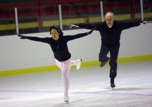 Maria Rydhult och Erik Thunell hade både finess och koreografi som räckte till en slutlig andraplats. Foto: Håkan Degselius