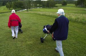 Andra golfrundan för veckan.