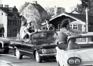 En raggarrundedag 20 juni 1977.