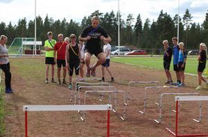 Snabbhet, spänst och löpteknik stod på programmet under onsdagseftermiddagens pass.